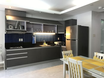 HONEYMOON SUITE ANAVADA APARTMENT In-Room Kitchen