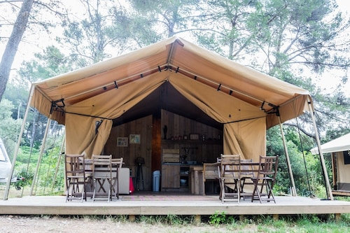 Camping du Garlaban, Bouches-du-Rhône