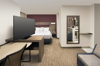 Guestroom at Residence Inn by Marriott Baltimore Owings Mills in Owings Mills
