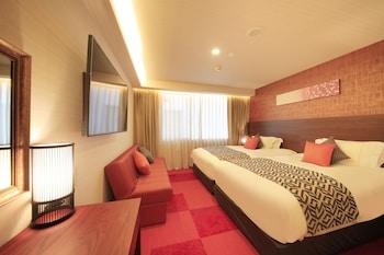スーペリアツインルーム 喫煙可 (セミダブルベッド2台) - Extrabed is from 3rd Adult 19㎡ センチュリオンホテル クラシック 奈良