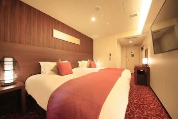 スタンダードツインルーム 禁煙 (セミダブルベッド2台)|16㎡|センチュリオンホテル クラシック 奈良