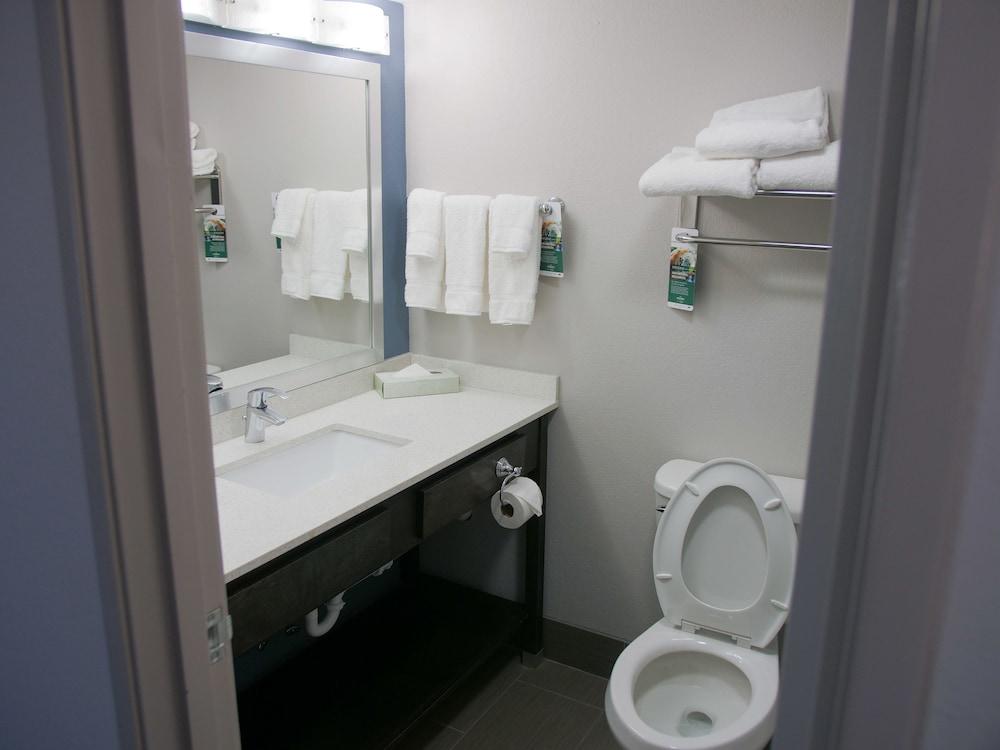 윈게이트 바이 윈덤 루이빌 페어 앤드 엑스포(Wingate by Wyndham Louisville Fair and Expo) Hotel Image 34 - Bathroom