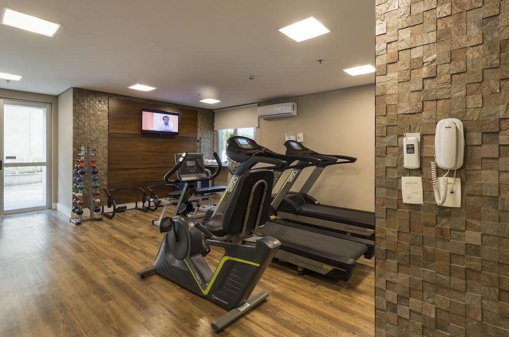 인터시티 이비라푸에라(Intercity Ibirapuera) Hotel Image 40 - Gym