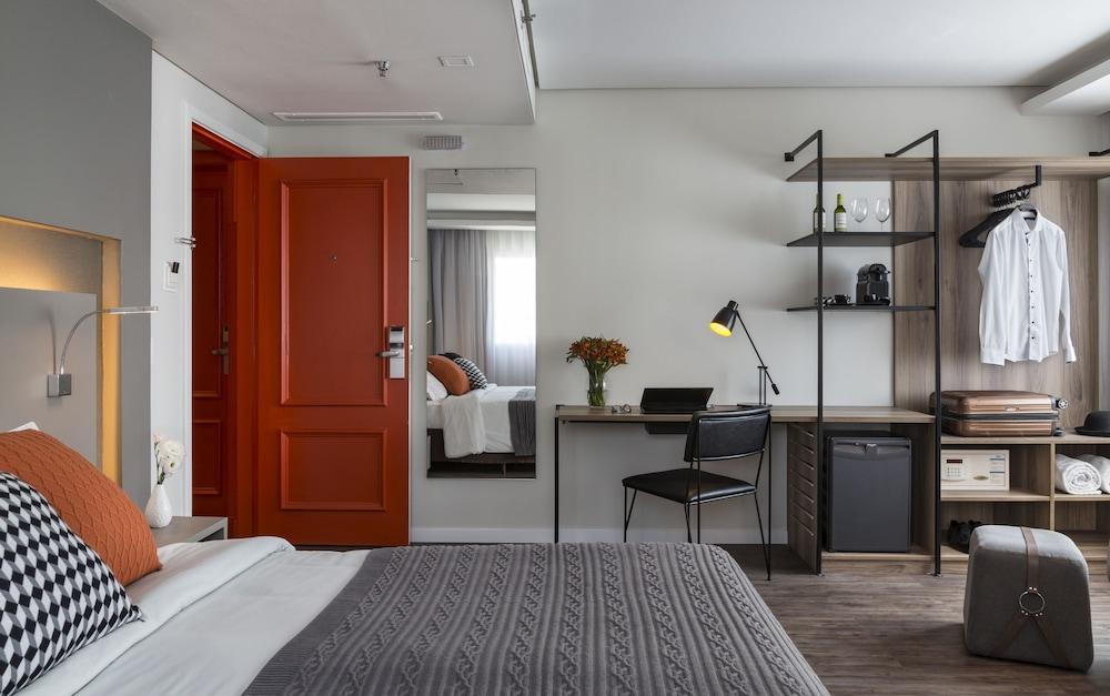 인터시티 이비라푸에라(Intercity Ibirapuera) Hotel Image 13 - Guestroom
