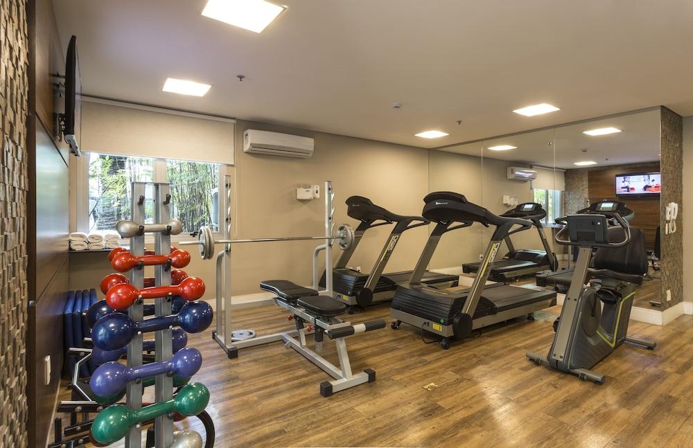 인터시티 이비라푸에라(Intercity Ibirapuera) Hotel Image 41 - Gym