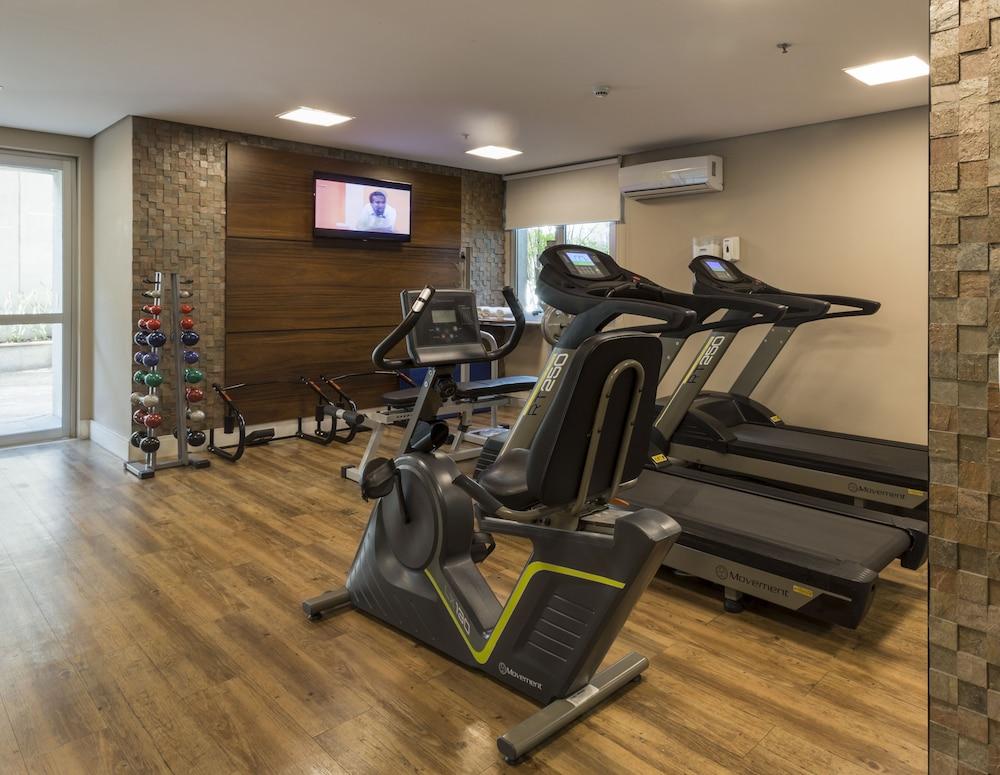 인터시티 이비라푸에라(Intercity Ibirapuera) Hotel Image 42 - Gym