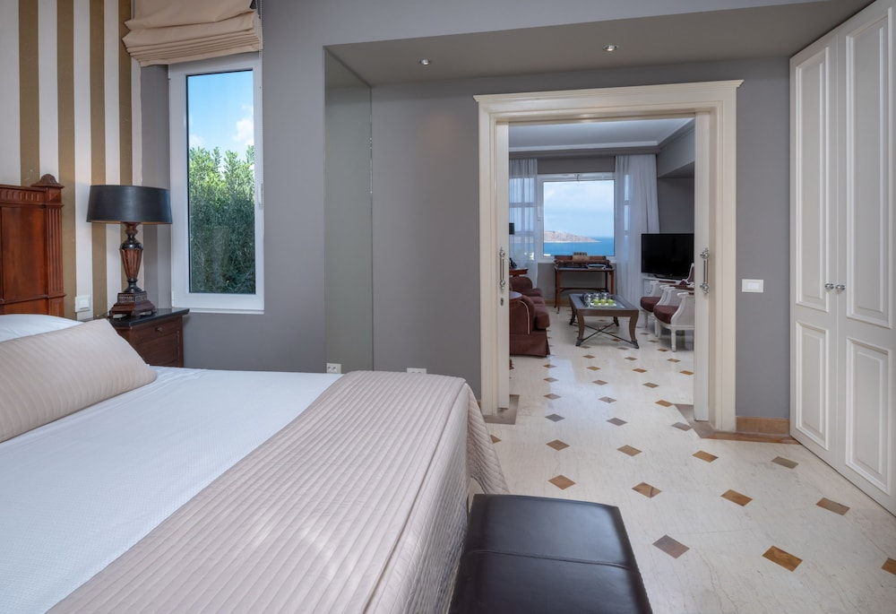 엘룬다 걸프 빌라 앤 스위트(Elounda Gulf Villas And Suites) Hotel Image 46 - Guestroom View