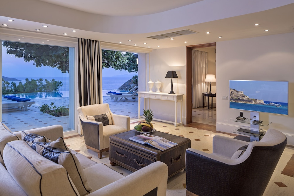 엘룬다 걸프 빌라 앤 스위트(Elounda Gulf Villas And Suites) Hotel Image 30 - Living Area