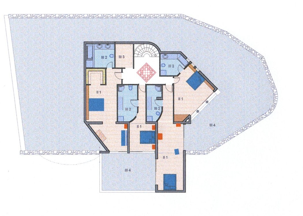 엘룬다 걸프 빌라 앤 스위트(Elounda Gulf Villas And Suites) Hotel Image 50 - Floor plan