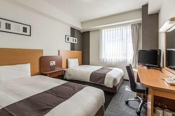 スタンダード ツインルーム シングルベッド 2 台 禁煙 コンフォート ホテル 岐阜