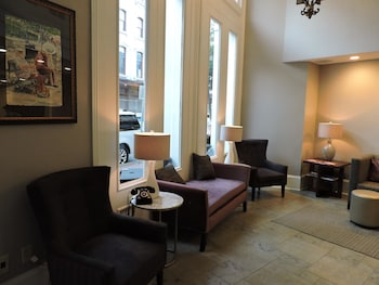 Lobby at Best Western Plus St. Christopher Hotel in New Orleans