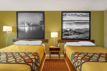 Guestroom at Super 8 by Wyndham Virginia Beach Oceanfront in Virginia Beach