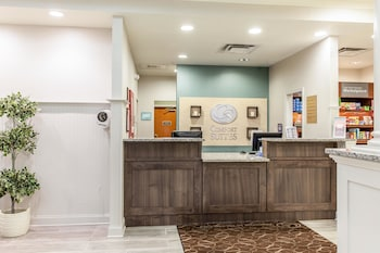Lobby at Comfort Suites Ocean City in Ocean City