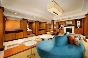 Lobby at Fairfield Inn & Suites Germantown Gaithersburg in Germantown