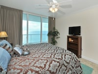 <p><strong>1 King Bed, 1 Double Bed and 2 Twin Bunk Beds</strong></p><p>1346-sq-foot (125-sq-meter) individually decorated room, furnished balcony with ocean views</p><br/><p><b>Layout</b> - 2 bedrooms, living room, and dining area</p><p><b>Internet</b> - Free wired Internet access </p><p><b>Entertainment</b> - Cable channels and DVD player </p><p><b>Food & Drink</b> - Kitchen with refrigerator, stovetop, microwave, and dishwasher</p><p><b>Bathroom</b> - 2 bathrooms, deep soaking bathtub </p><p><b>Practical</b> - Washer/dryer, queen sofa bed, and free local calls</p><p><b>Comfort</b> - Air conditioning</p><p>Non-Smoking</p><p>Room is accessed via exterior corridors </p>&nbsp;