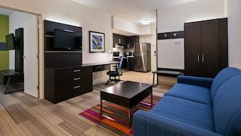 Suite, 1 Bedroom, Kitchen (Living Area)