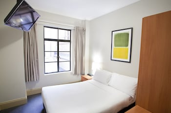 Guestroom at 1831 Boutique Hotel (formerly Pensione Hotel) in Haymarket