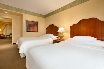 Suite, 2 Double Beds, Accessible (Hearing)