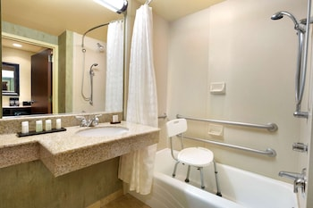 Suite, 1 King Bed, Accessible, Bathtub (Mobility & Hearing)