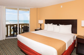 Standard Room, 1 King Bed, Refrigerator, Ocean View