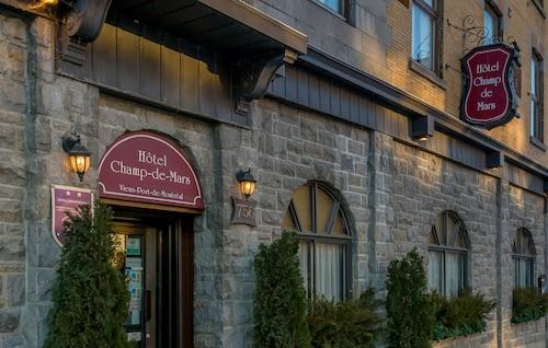 Montreal - Hôtel Champ-de-Mars - z Warszawy, 2 kwietnia 2021, 3 noce