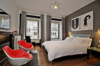 Superior Room, 1 Queen Bed, Fireplace