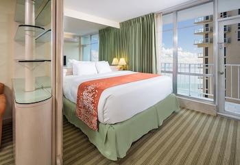 Classic Two Bedroom Suite Partial Ocean View