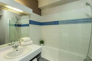 Appart'City Lyon - Part-Dieu Garibaldi - Bathroom  - #0