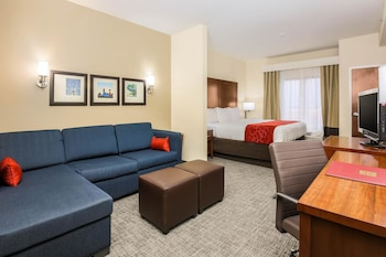 Guestroom at Comfort Suites Dallas Fort Worth Near Grapevine in Grapevine