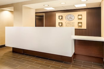 Lobby at Comfort Suites Dallas Fort Worth Near Grapevine in Grapevine