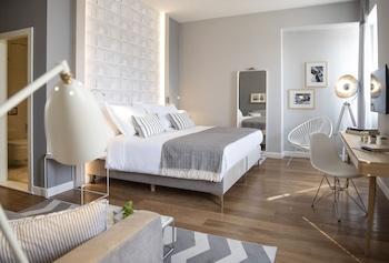 Classic Tek Büyük Yataklı Oda, Kısmi Deniz Manzaralı