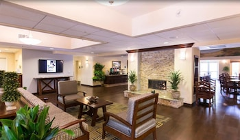 Lobby at Homewood Suites by Hilton San Diego-Del Mar in San Diego