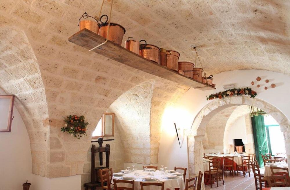 마세리아 리프리제리오(Masseria Refrigerio) Hotel Image 24 - 레스토랑