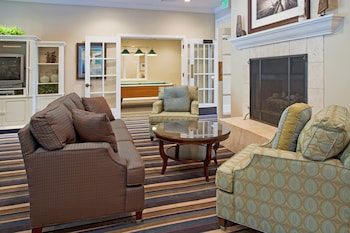 Lobby Sitting Area at Holiday Inn Club Vacations South Beach Resort in Myrtle Beach