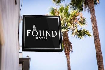 Exterior detail at Found Hotel San Diego in San Diego