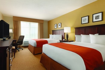Guestroom at Country Inn & Suites by Radisson, BWI Airport (Baltimore), MD in Linthicum Heights
