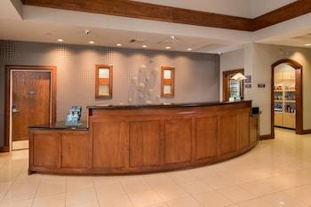 Lobby at Residence Inn by Marriott Chesapeake Greenbrier in Chesapeake