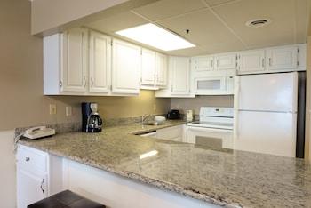 In-Room Kitchen at Marigot Beach Suites - Oceanfront in Ocean City