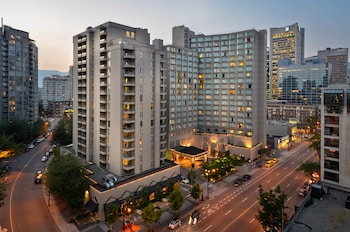 La Grande Residence Vancouver at The Sutton Place Hotel - Aerial View  - #0