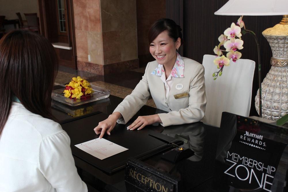 오키나와 매리어트 리조트 앤드 스파(Okinawa Marriott Resort & Spa) Hotel Image 3 - Reception