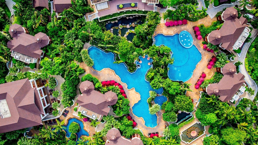 인터콘티넨탈 파타야 리조트(InterContinental Pattaya Resort) Hotel Image 55 - Aerial View