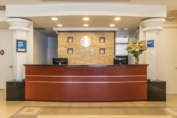 Lobby at Comfort Inn & Suites LaGuardia Airport in Maspeth