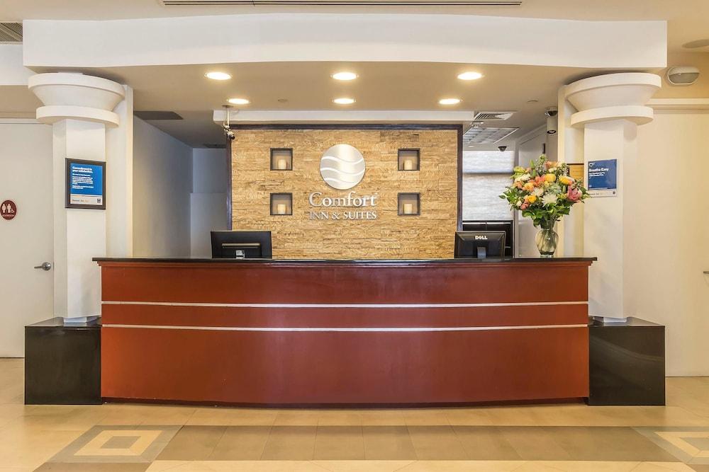 컴포트 인 & 스위트 라과디어 에어포트(Comfort Inn & Suites LaGuardia Airport) Hotel Image 1 - Lobby