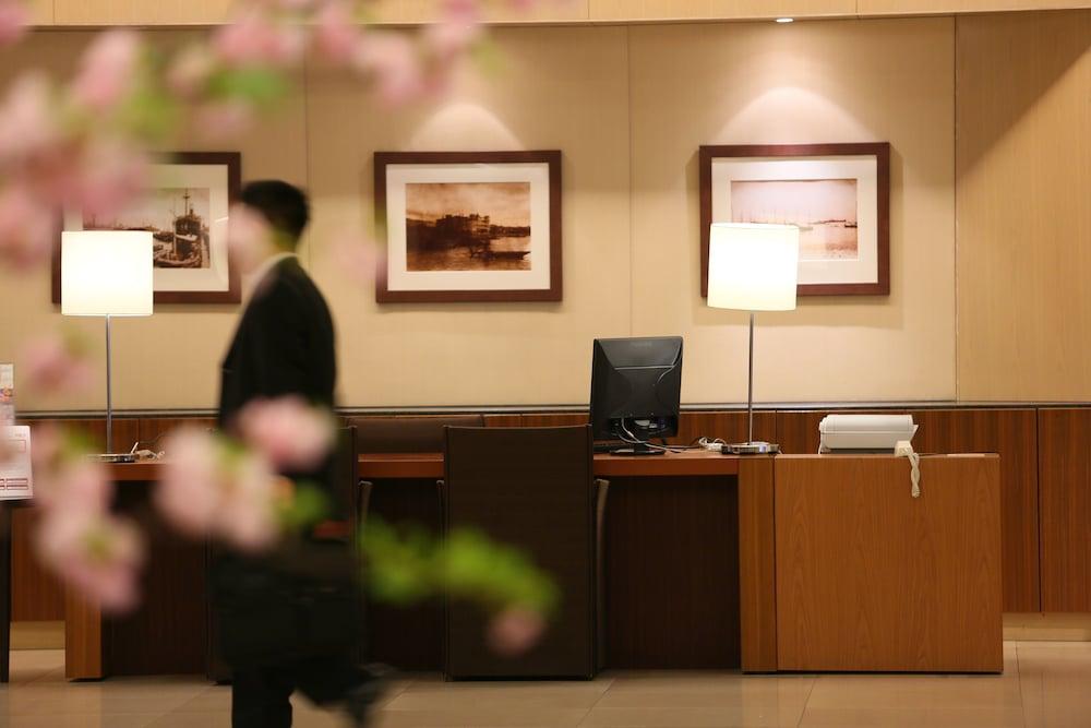크라운 플라자 ANA 고베(Crowne Plaza ANA Kobe) Hotel Image 8 - Concierge Desk