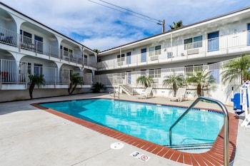 加利福尼亞瑪麗娜海濱 6 號汽車旅館 Motel 6 Oceanside, CA – Marina