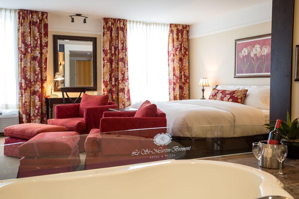 르 상-마르탱 브로몽 호텔 & 스위트(Le St-Martin Bromont Hotel & Suites) Hotel Image 11 - Guestroom