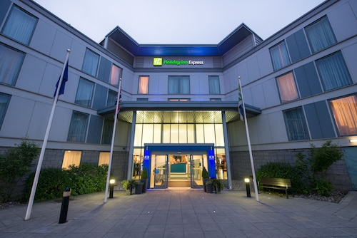 Stansted - Holiday Inn Express London Stansted Airport - ze Szczecina, 24 kwietnia 2021, 3 noce