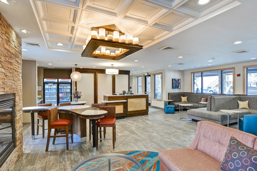 Photo of lobby of Homewood Suites by Hilton Jackson in Jackson, Wyoming