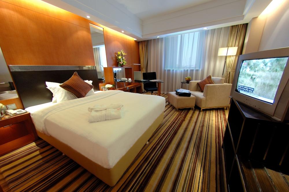 장궈 가든 호텔(Jianguo Garden Hotel) Hotel Image 7 - Guestroom
