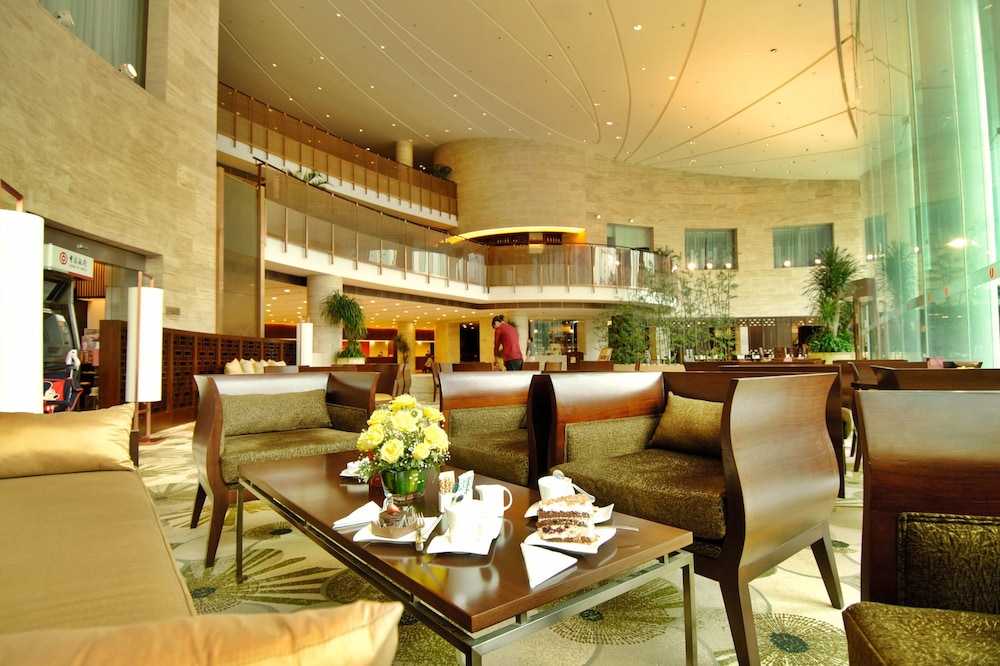 장궈 가든 호텔(Jianguo Garden Hotel) Hotel Image 2 - Lobby Sitting Area